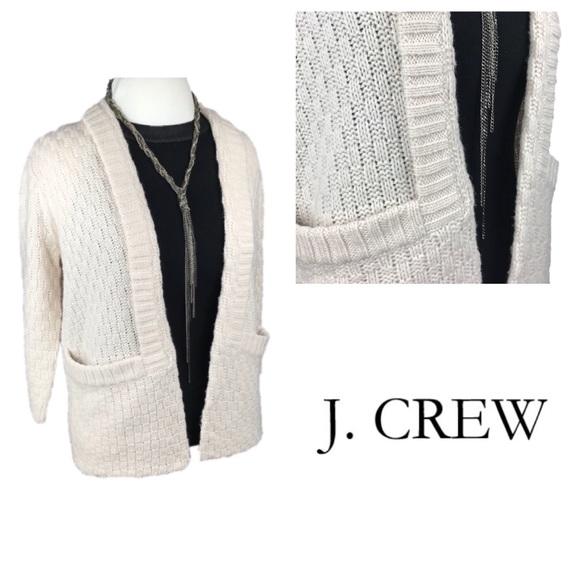 d360b26e58 J. Crew Factory Open Cardigan Sweater